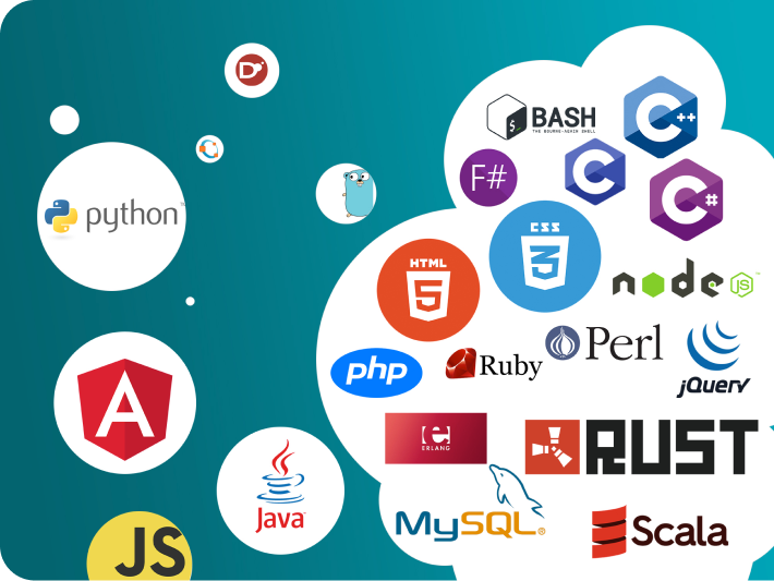 Assess coding talent with our platform that supports over 28 programming languages - Bash, C, C++, C#, D, F#, GNU Octave, Go, Java 8, JavaScript, PHP, Python 2